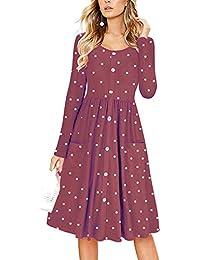 new styles 6dfda d5ec8 Amazon.it: Vestito di lana - Lungo / Vestiti / Donna ...
