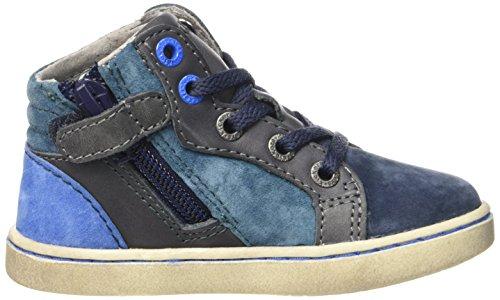 Kickers Lynx, Chaussures Premiers Pas Bébé Garçon Bleu (Marine/Bleu)