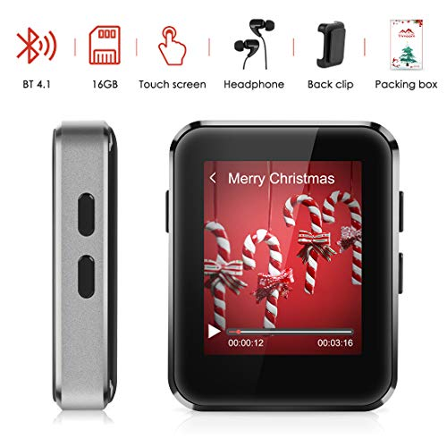 MP3 Player 16GB with BT 4.1 Supp...