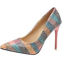 Zapatos mujer tacón alto slip on,Sonnena Zapatos de tacón fino de moda de mujer