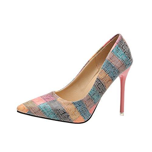Zapatos mujer tacón alto slip on