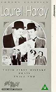 Laurel And Hardy: Their First Mistake/Brats/Twice Two [VHS]