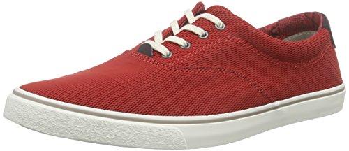 Clarks - Gosling Walk, Scarpe stringate Uomo Rosso (Red Fabric)