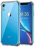 Bovon Hülle für iPhone XR, Dünne Schutzhülle Case Crystal Clear Weiche Durchsichtige Rückschale...