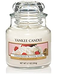 Yankee Candle 1178554E Bougie senteur Strawberry Buttercream
