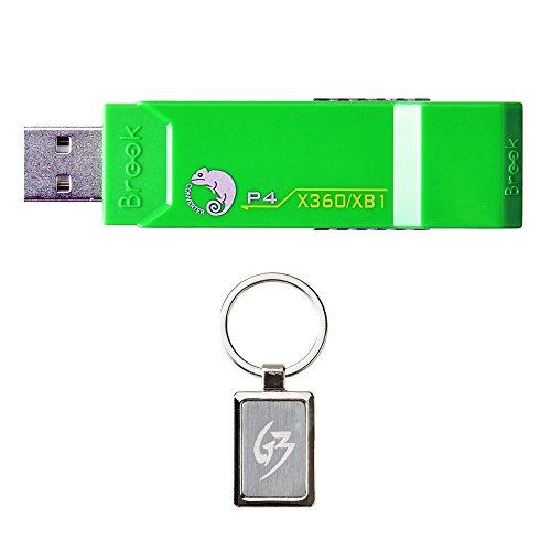Gam3Gear Brook ZPPN002 XBox 360 / Xbox ONE to PS4 Super Converter  Controller Gaming Adapter with FREE Keychain