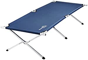 Skandika XX-Large Portable Camping Bed - Blue, 210x80cm
