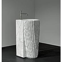 Lavabo da terra Antonio Lupi Controverso lavabo da terra con piletta CONTROVERSO