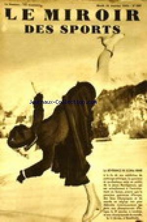 MIROIR DES SPORTS (LE) [No 689] du 10/01/1933