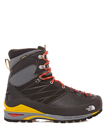 The North Face M Verto S4k Gtx, Chaussures de Randonnée Homme Noir - Negro (TNF Black / TNF Yellow)