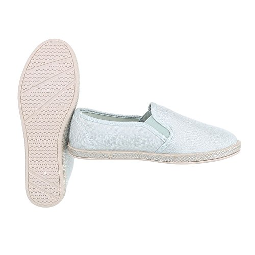 Ital-Design - Low-top Donna Verde chiaro