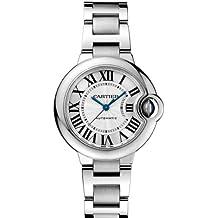 Cartier W6920071 - Reloj para mujeres, correa de acero inoxidable color plateado