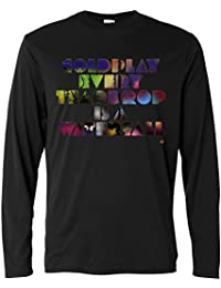 Camiseta de manga larga hombre - Coldplay - Long Sleeve 100% algondon LaMAGLIERIA