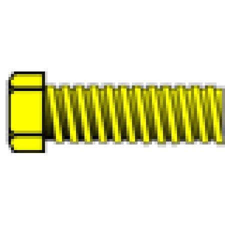 Woodland Scenics H865 0-80 1/8 Hex Head Machine Screws (5) Hob-Bits by Woodland Scenics