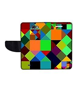 KolorEdge Printed Flip Cover For Samsung Galaxy Note 2 N7100 Multicolor - (55KeMLogo11055SamN7100)