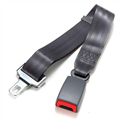 Car Safety Belt Extender Multi Function Car Safety Belt Extension Belt Car Safety Belt Extender Lengthening Safety Belt Car Accessory Black