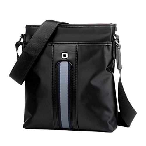 Oxford Wasserdicht Schultertasche Handtaschen Aktentasche Arbeit Messenger Bag Bücher Halten IPad Herrentaschen Black