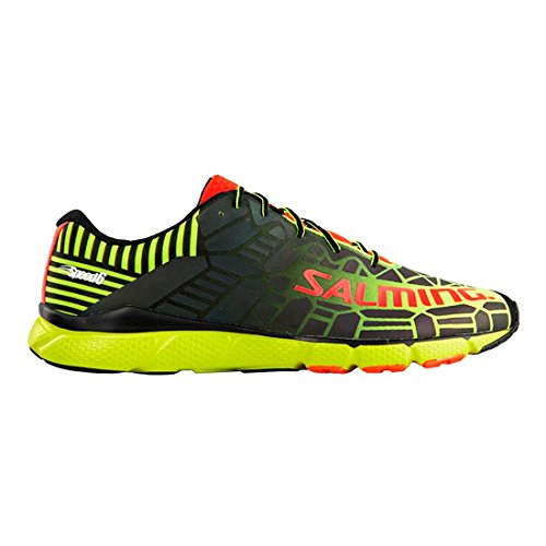Salming Speed 6 Shoe Fluo Yellow Black 44