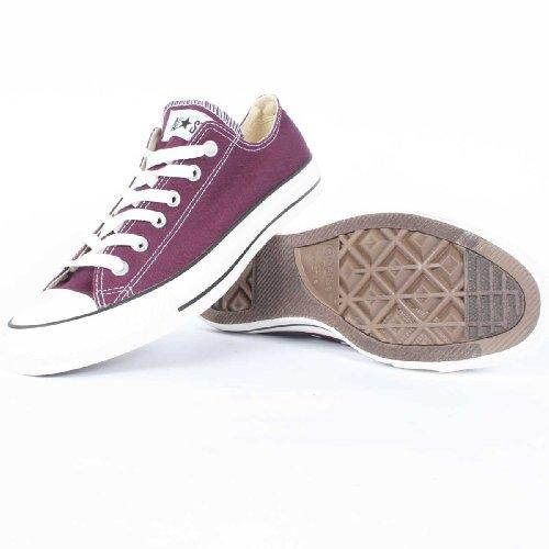 Converse - Chuck Taylor Grapewine Lila niedrigen Spitzenschuhe Grapwine Purple