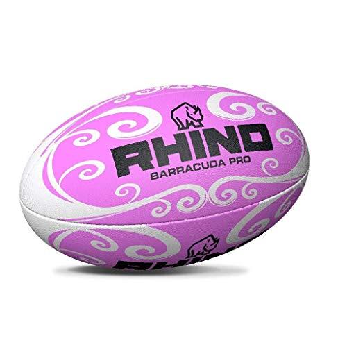 Rhino Barracuda Beach Rugby Ball Rugbyball, Rose, 37,5