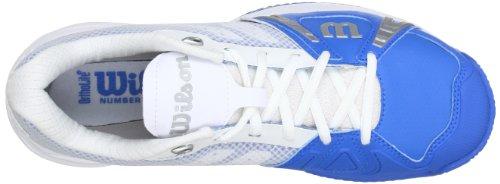 Wilson Wrs317190E110, Chaussures de tennis homme Bleu (Pool)