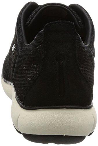Geox D Nebula G, Sneakers Basses Femme Noir (Blackc9999)