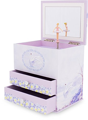 Ulysse 9527 Musical Box Swan Lake (2 Schubladen) -