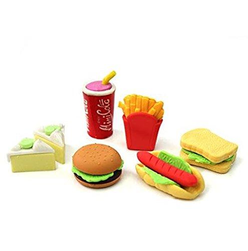 Kreative Bürobedarf Radiergummi Essen Schnitzel für Kinder.