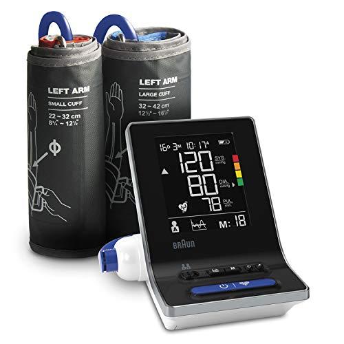 Il misuratore della pressione sanguigna per braccio per uso domestico Braun ExactFit 3 BUA6150WE con 2 misure del bracciale