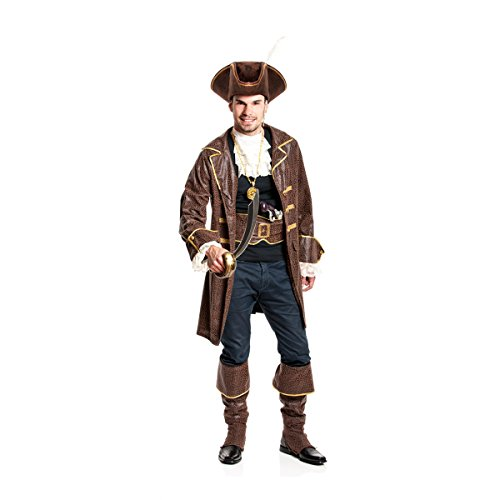n-Kostüm Herren Kostüm Pirat Größe 64/66 (Pirat Kostüm Mann)
