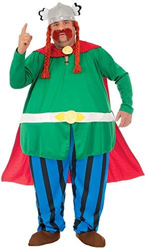 tüm Majestix aus Asterix und Obelix, Lizenzprodukt, 6-teiliges Set, Größe L (Asterix Et Obelix Kostüme)