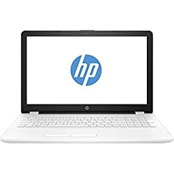 "HP 15-BS510NS - Ordenador portátil de 15.6"" (Wi-Fi y Bluetooth 4.0, Intel Celeron 1.6 GHz, memoria interna de 1 TB, 8 GB de RAM, Windows 10 Home) color blanco nieve, teclado Qwerty español"