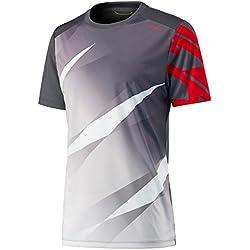 Head - Camiseta para hombre, diseño de gráfico visual, hombre, color antracita, tamaño medium