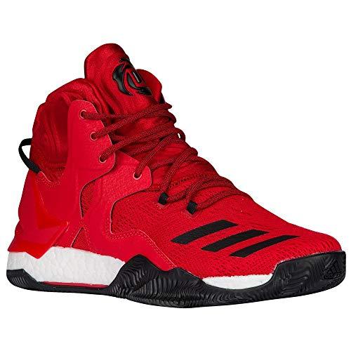 adidas D Rose 7 Basketballschuhe (53, rot)