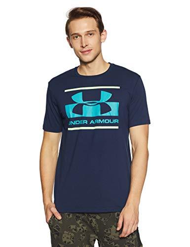 Under Armour Herren Blocked SPortstyle Logo T-shirt,blau (Academy), LG
