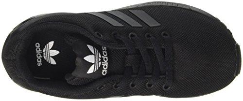 adidas Unisex-Kinder Zx Flux Low-Top Schwarz (Cblack/cblack/cblack)