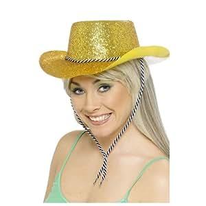 Cowboy Glitzer-Hut