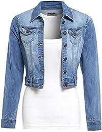 Suchergebnis auf Amazon.de für  Stretch-Jeansjacke, - Damen  Bekleidung 7037405015