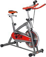 SKY LAND Indoor Spinning Bike - EM-1544, Red