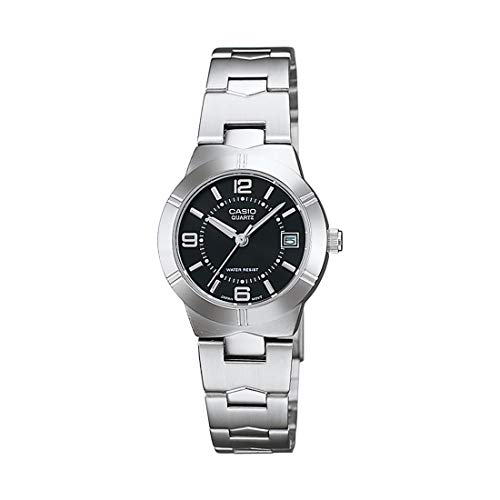 Casio Enticer Analog Black Dial Women's Watch - LTP-1241D-1ADF (A849)