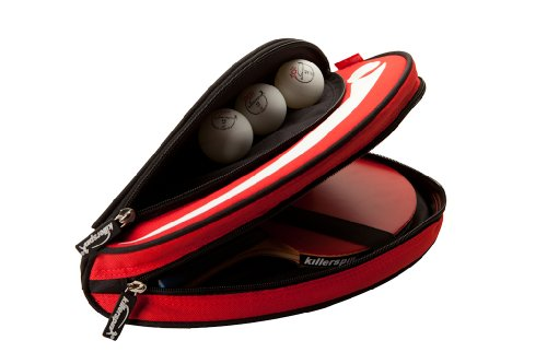 Killerspin Barracuda Ping Pong Schläger Tragetasche, Black, One Size