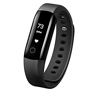 Fitness Tracker, Mpow Heart Rate Monitor Smart Bracelet Waterproof Activity Tracker Pedometer Wristband Sleep Monitor Smartwatch for Android and iOS Smartphones Such As iPhone 7 7 Plus 6 Samsung S8