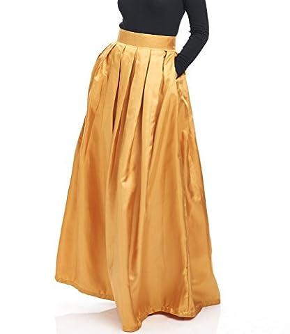 Marigold Maxi Skirt (L)