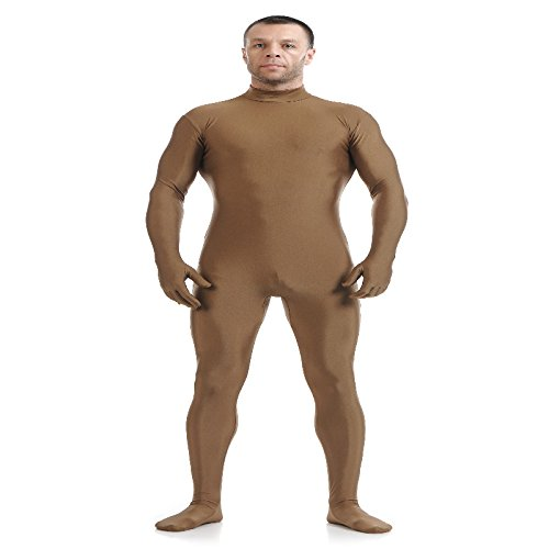 Blau Spandex Zentai Full Body Skin Tight Jumpsuit Zentai Suit Body Kostüm für Frauen Unitard Lycra Dancewear, XL