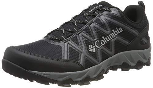 Columbia Peakfreak X2 Mid Outdry, Zapatos de Senderismo para Hombre, Negro Black, Ti Grey 010, 40...
