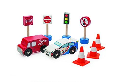 Le Toy Van : jouet en bois : bois Signes et véhicules de la circulation