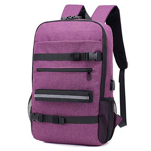 TnXan Hiking Camping Backpack Casual Business Casual Men's Travel Bag Trend Skateboard Bag Outdoor Ladies Student Bag Has USB Jack with Password Lock Trekking Rucksacks
