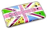thematys Samsung Galaxy S Advance i9070 Rosa Keep Calm Cover Rigida per-Custodia con Chiusura a Linguetta