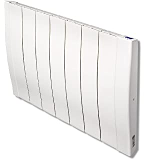 haverland designer rc wave rc7w 1100 watt electric radiators wall mounted with timer and high precision
