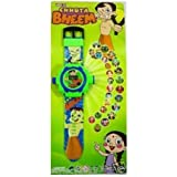 Plutofit™ 24 Different Images Chhota Bheem Projector Watch